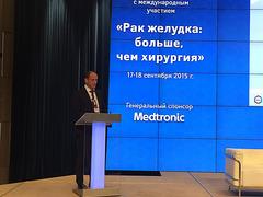 «Онкологическая помощь больным раком желудка в Москве», проф. И. Е. Хатьков, г. Москва, Россия